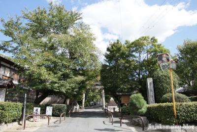 鷺森神社(左京区修学院薬師堂町)1