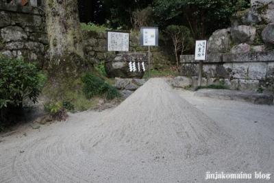 鷺森神社(左京区修学院薬師堂町)10