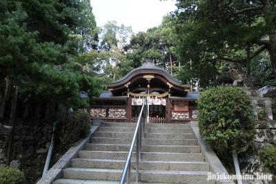 鷺森神社(左京区修学院薬師堂町)12