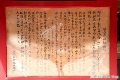 鷺森神社(左京区修学院薬師堂町)17