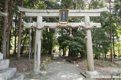 鷺森神社(左京区修学院薬師堂町)34