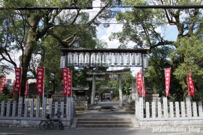 田中神社(左京区田中西樋ノ口町)1