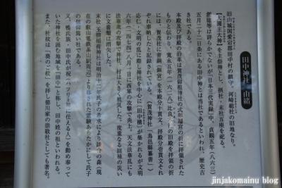 田中神社(左京区田中西樋ノ口町)8