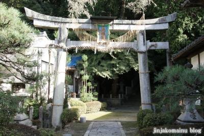 北白川天神宮(左京区北白川下池田町)6