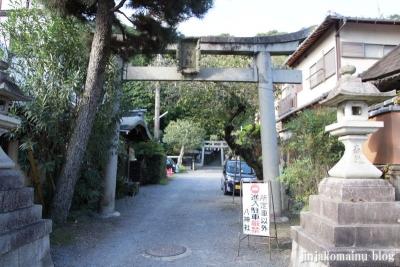 八神社(左京区銀閣寺町)1