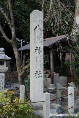 八神社(左京区銀閣寺町)3