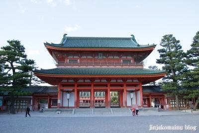 平安神宮(左京区岡崎西天王町)2