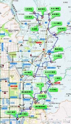 岩倉~河原町 19,1km