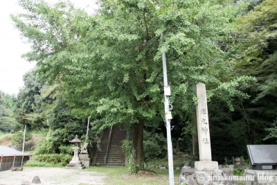 蝉丸神社(大津市大谷町)1