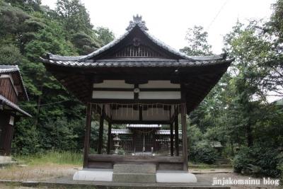 蝉丸神社(大津市大谷町)10
