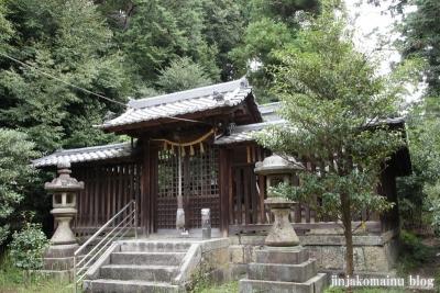 蝉丸神社(大津市大谷町)17