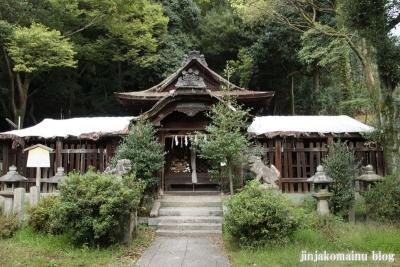 関蝉丸神社下社(大津市逢坂)12
