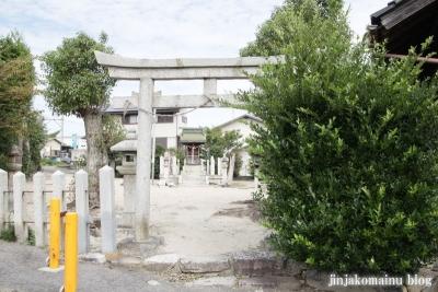 長澤神社(大津市坂本)1