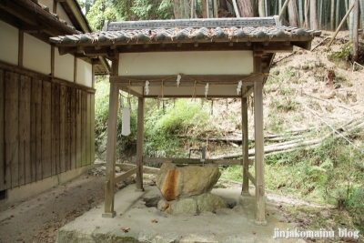 大伴神社(大津市南志賀)3