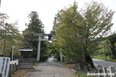 三尾神社(大津市円城寺町)1