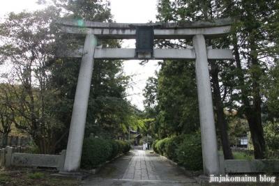 三尾神社(大津市円城寺町)3