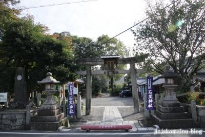 岩座神社(大津市西の庄)1