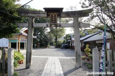 岩座神社(大津市西の庄)2
