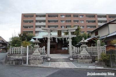 玄武神社(北区紫野雲林院町)1