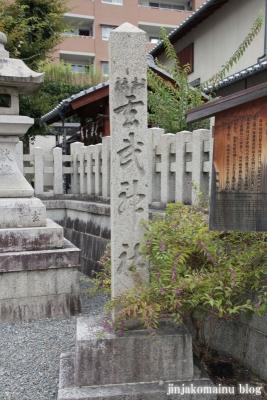 玄武神社(北区紫野雲林院町)4