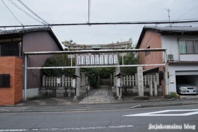 若宮神社(北区紫野雲林院町)1