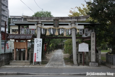 首途八幡宮(上京区桜井町)1