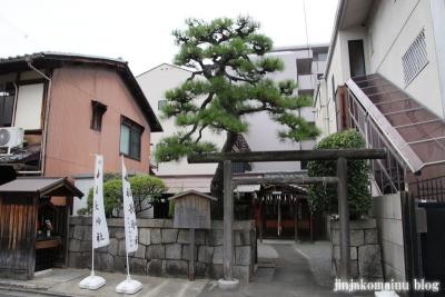 福永神社(上京区福長町)1