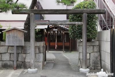 福永神社(上京区福長町)2