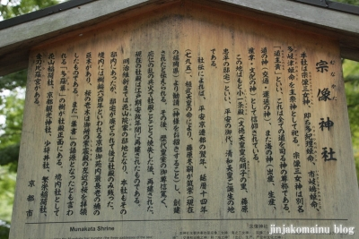 宗像神社(上京区京都御苑)5