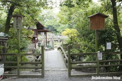 厳島神社(上京区京都御苑)1