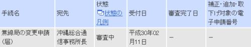 JS6SAC審査中