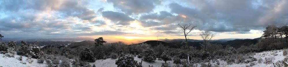 2018半国山/景色