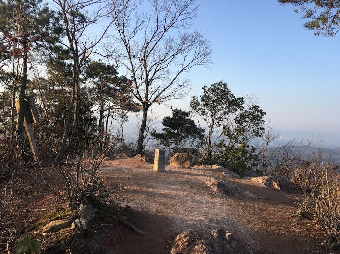 2018大岩ヶ岳/山頂の様子
