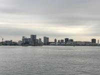 新日の出橋からの晴海・豊洲方面