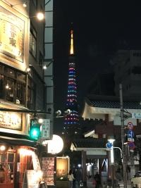 東京マラソン2018開催記念特別ライトアップ