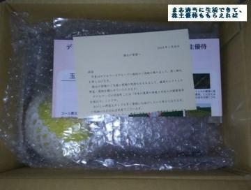 デリカフーズホールディングス 野菜セット優待内容03 201709