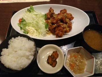 カッパ・クリエイト 北海道 油淋鶏定食01 1801 201709