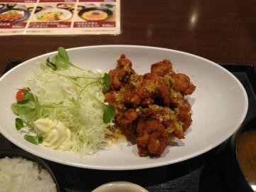 カッパ・クリエイト 北海道 油淋鶏定食03 1801 201709