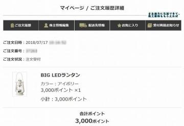 SDエンター BIG LEDランタン(アイボリー)注文 201803