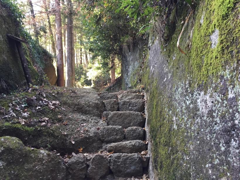 石老山でソロスト02