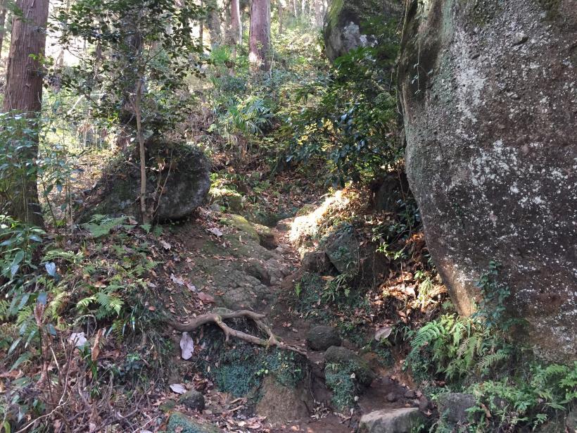 石老山でソロスト04