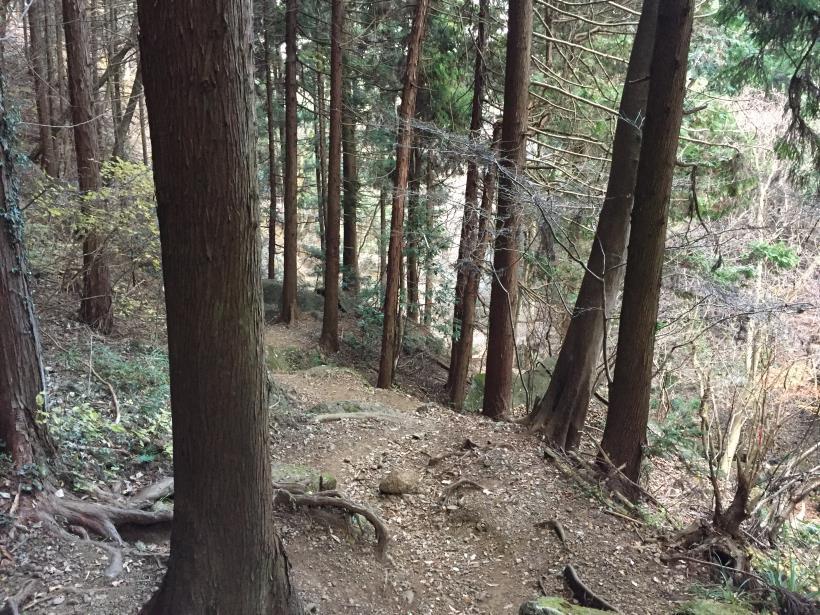 石老山でソロスト35