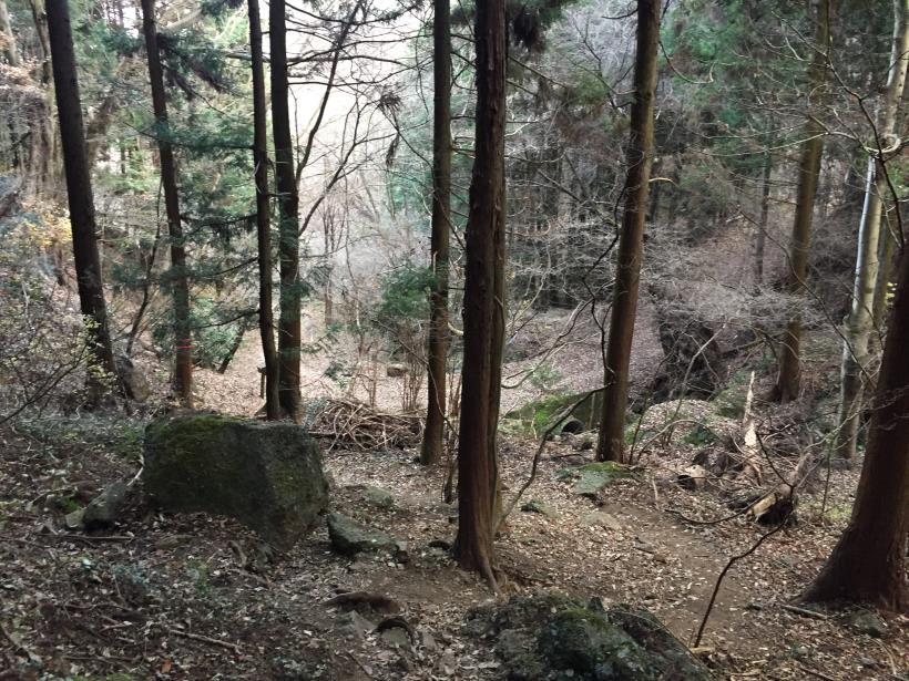 石老山でソロスト36