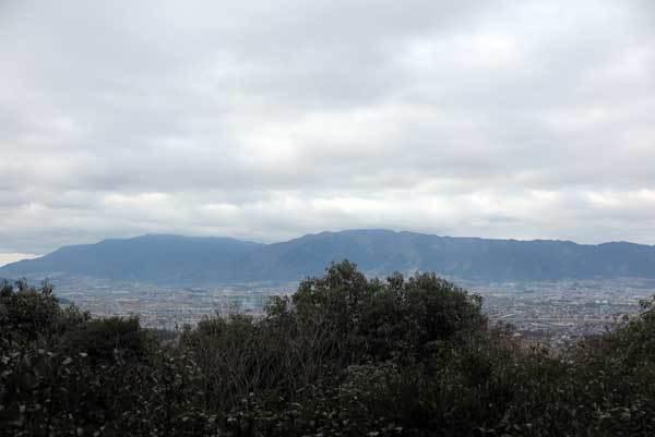 180104畝傍山から金剛葛城