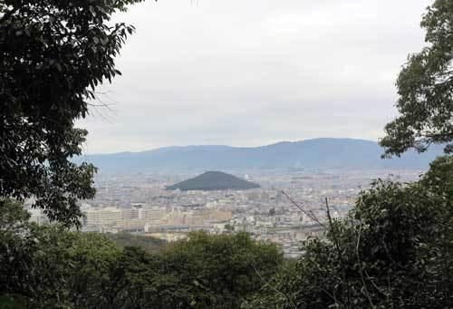 180104畝傍山から耳成山