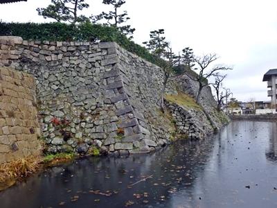 岸和田城_二ノ丸石垣