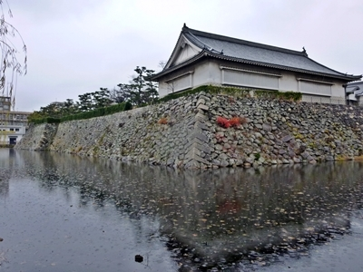 岸和田城_二ノ丸堀