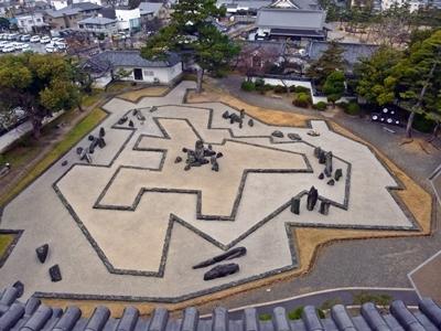 岸和田城_八陣の庭