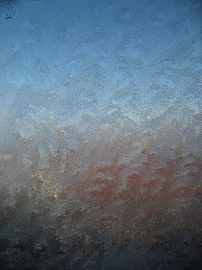 窓が凍った②IMG_3361