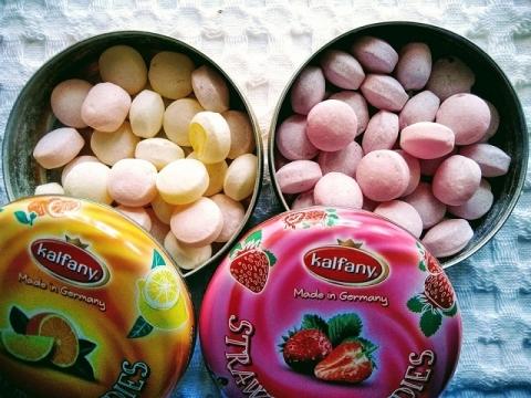 ドイツ製 KALFANY フルーツキャンディー2種2